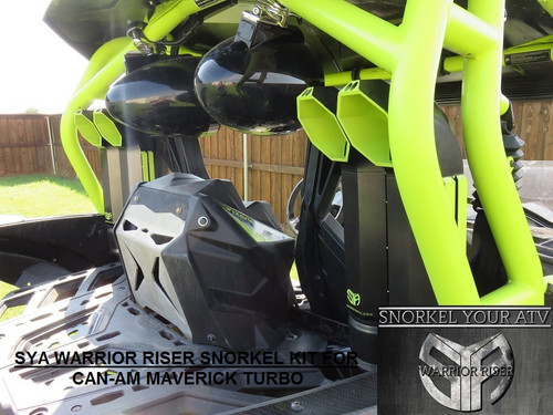 SYA WARRIOR RISER SNORKEL KIT FOR CAN-AM MAVERICK TURBO 1000 2015-2018 & MAX
