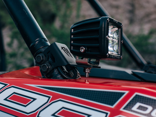 A-pillar Dually Mounts RZR