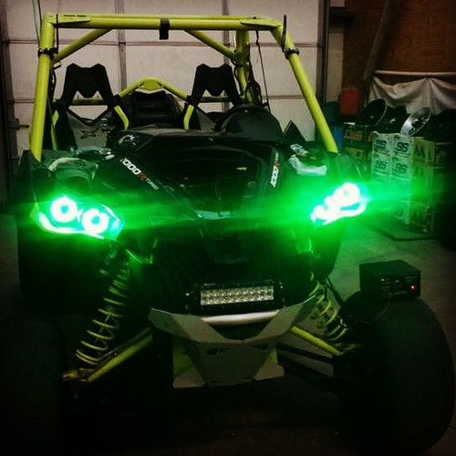 Can-am Halo/Rock Light Combo