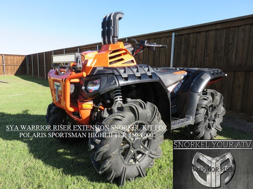 SYA WARRIOR RISER EXTENSION SNORKEL KIT FOR POLARIS SPORTSMAN HIGHLIFTER EDITION 850 - 1000