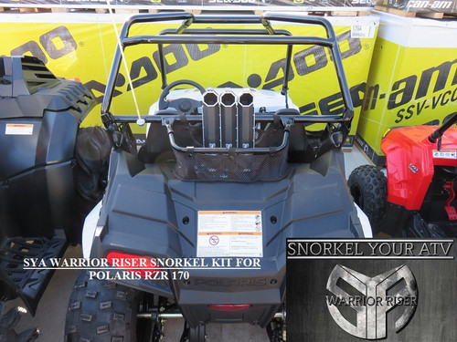 SYA WARRIOR RISER SNORKEL KIT FOR POLARIS RZR 170 2010-2017