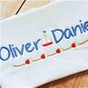 Oliver Font Set Machine Embroidery Design