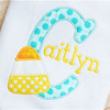 Candy Corn 3 Alpha Machine Embroidery Design