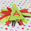 Christmas Tree Feltie Alpha Machine Embroidery Design