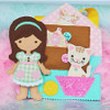 In The Hoop Doll Maggie Machine Embroidery Design