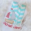 Sailboat 2 Alpha Machine Embroidery Design