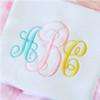 Royal Monogram Font Machine Embroidery Design