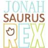 Saurus Rex Applique Set