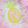 Pineapple Alpha Machine Embroidery Design