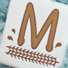 Dirt Tracks Applique Alpha Machine Embroidery Design