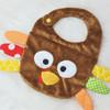 In the Hoop Turkey Bib Machine Embroidery Design