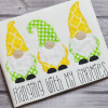 Gnomes Vintage and Chain Stitch