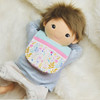 In the Hoop Doll Bib Machine Embroidery Design