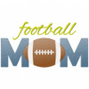 Football Mom Simple Stitch and Sketch Fill Applique