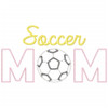 Soccer Mom Vintage and Chain Applique