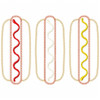 Hot Dogs Vintage and Chain Applique