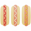 Hot Dogs Simple Stitch and Sketch Fill Applique Machine Embroidery Design