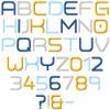 Matrix Embroidery Font