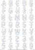 Jawsome Applique Alphabet