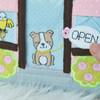 In the Hoop Teeny Town Pet Vet Quiet Book