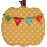 Banner Pumpkin Machine Embroidery Design