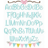 Madeline Embroidery Font Machine Embroidery Design