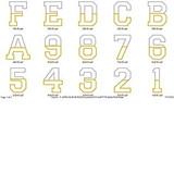 Team Applique Alphabet
