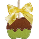 Candy Apple Applique Machine Embroidery Design