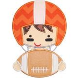 Football Helmet Boy