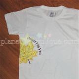 Half Leaf Applique Machine Embroidery Design