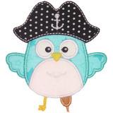 Pirate Owl Applique