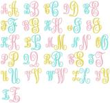 Royal Monogram Font