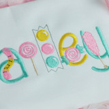 Sweet Tooth Font Machine Embroidery Design