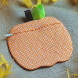 ITH Pumpkin Pouch Machine Embroidery Design