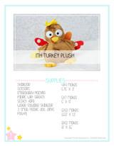 In the Hoop Turkey Plush
