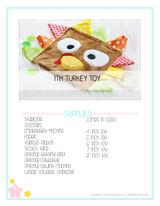 In the Hoop Turkey Chew Toy