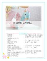 In the Hoop Sophie Seahorse Plush