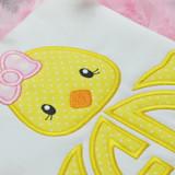 Girly Chick Monogram Alpha