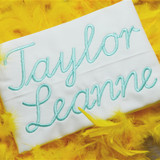 Taylor Embroidery Font Machine Embroidery Design