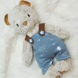 In The Hoop Overalls For Charlotte and Evangeline Machine Embroidery Design