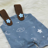 In The Hoop Overalls For Charlotte and Evangeline