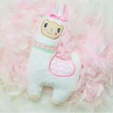 ITH Baby Llama Plush Machine Embroidery Design