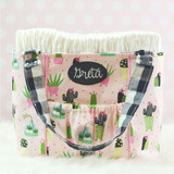 In the Hoop Diaper Bag Machine Embroidery Design