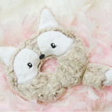 In the Hoop Baby Fox Pillow Machine Embroidery Design