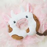 In the Hoop Baby Cow Pillow