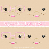 Virginia Face Styles For Darling Dolls Machine Embroidery Design