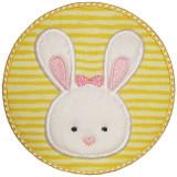 Circle Bunny Patch