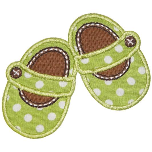 cc0bd1ec57e882 In the Hoop Baby Shoes - Planet Applique Inc