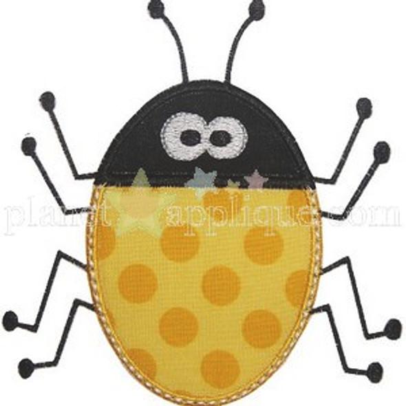 Bug Applique Machine Embroidery Design