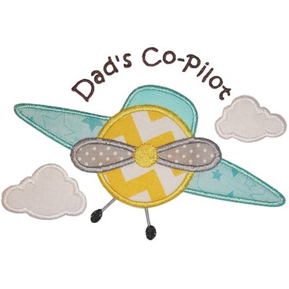 Dads CoPilot Applique
